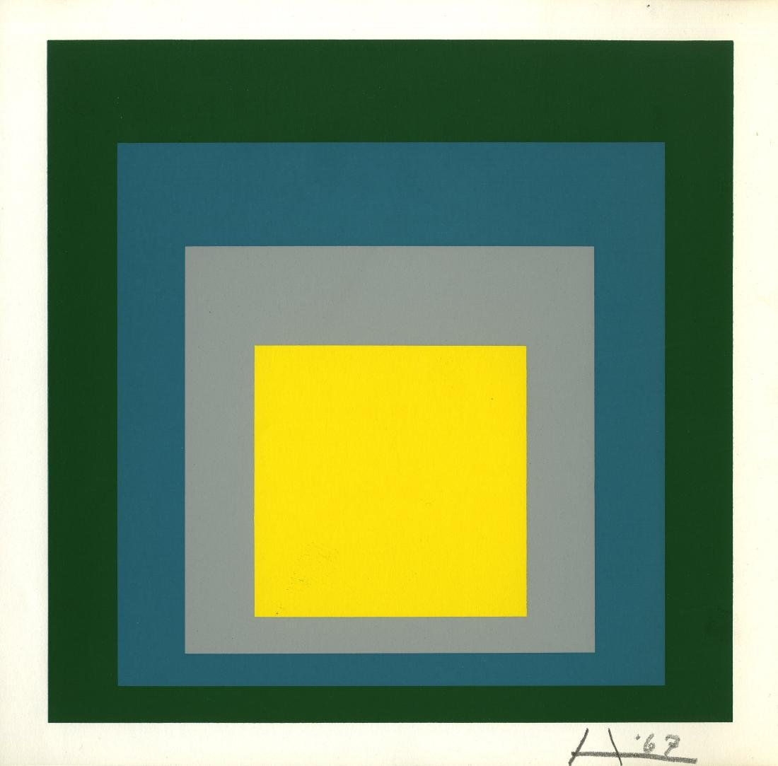 366: JOSEF ALBERS - Homage to the Square: Park