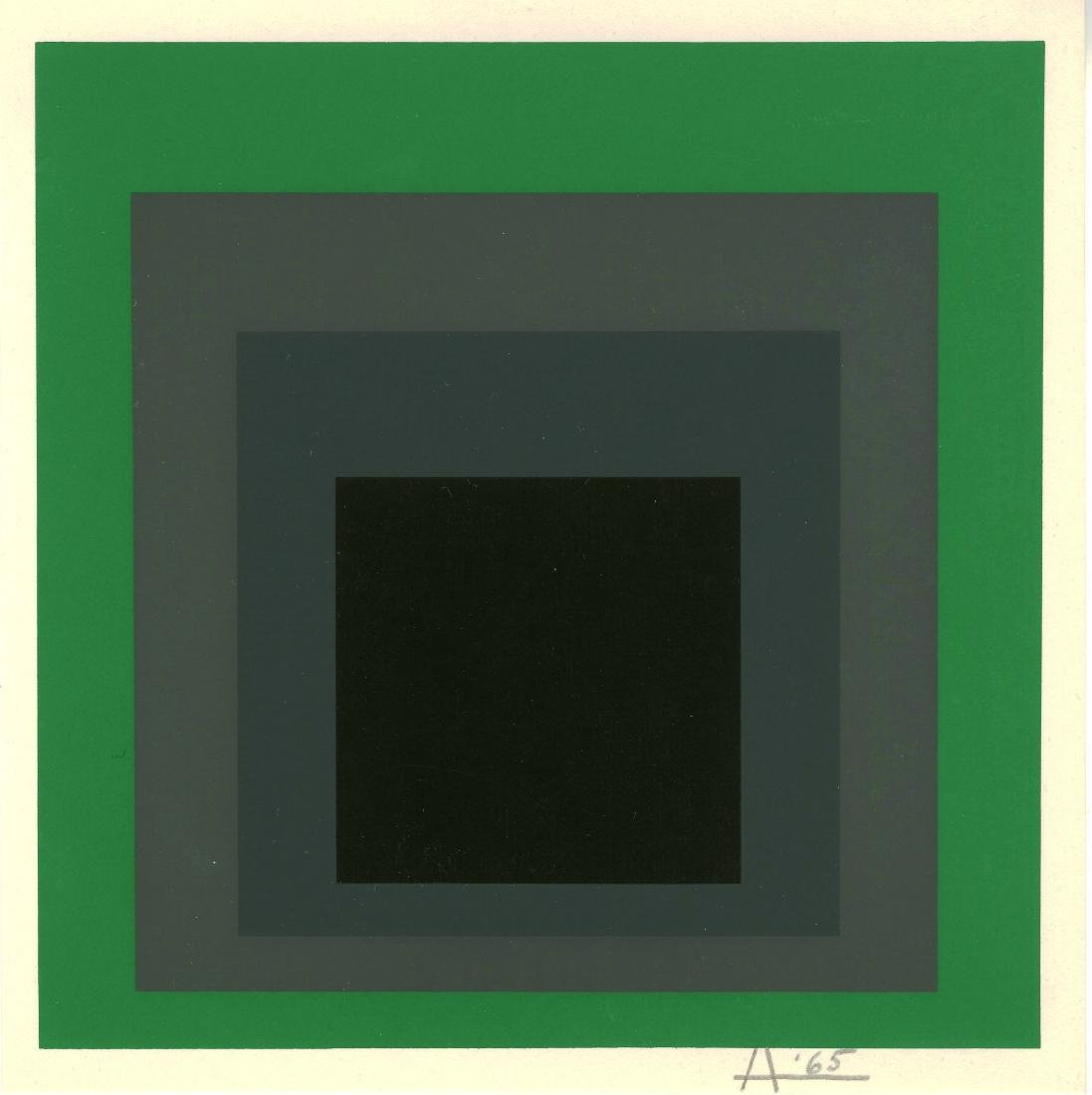 368: JOSEF ALBERS - Homage to the Square: Grisaille and