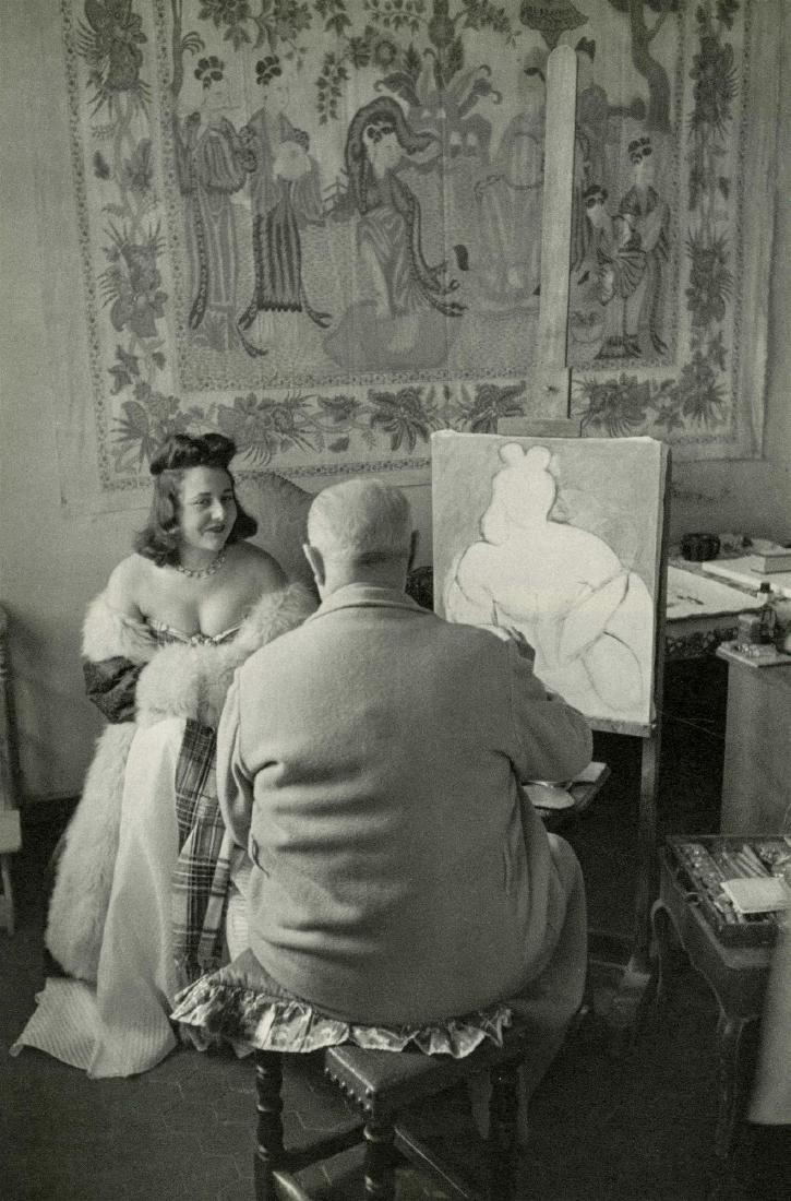 374: HENRI CARTIER-BRESSON - Henri Matisse, Vence,