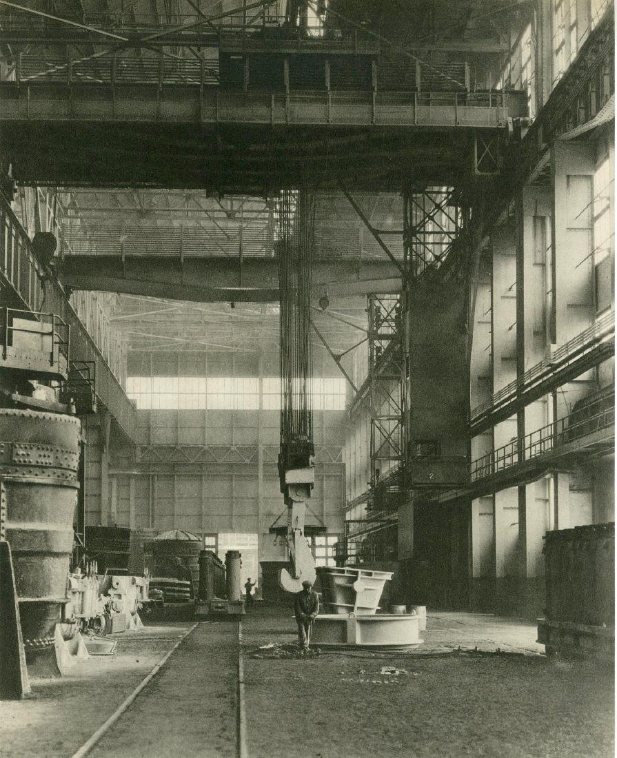 405: CHARLES SHEELER - Ford Plant, River Rouge, Ladle