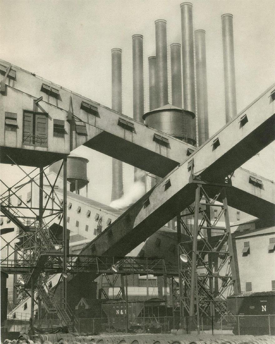 406: CHARLES SHEELER - Ford Plant, River Rouge,