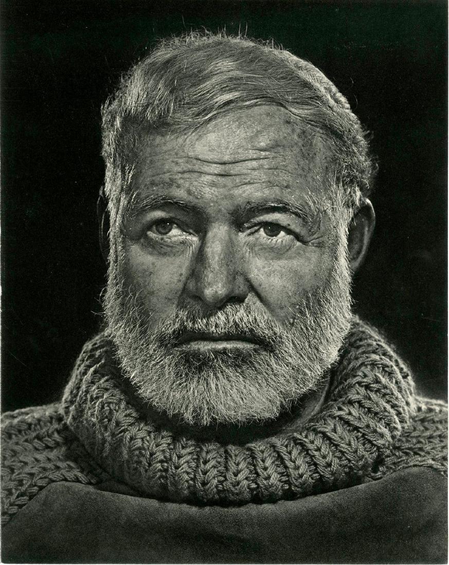 435: YOUSUF KARSH - Ernest Hemingway