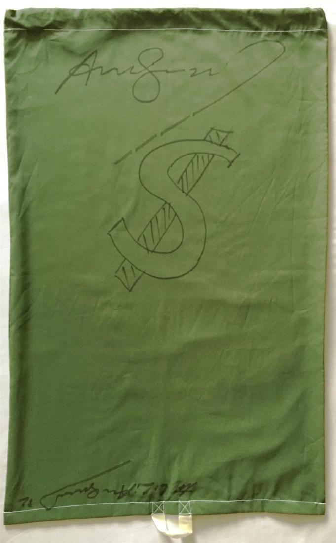 463: ANDY WARHOL - Dollar Sign - $