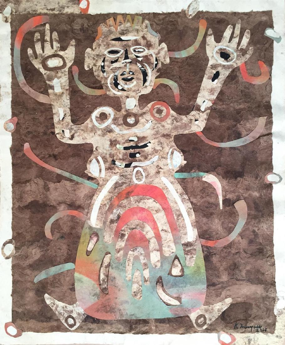 482: KARIMA MUYAES - Dancing Shaman Woman