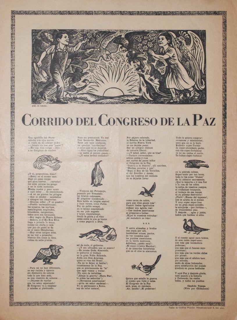 498: ALBERTO BELTRAN - Corrido del Congreso de la Paz