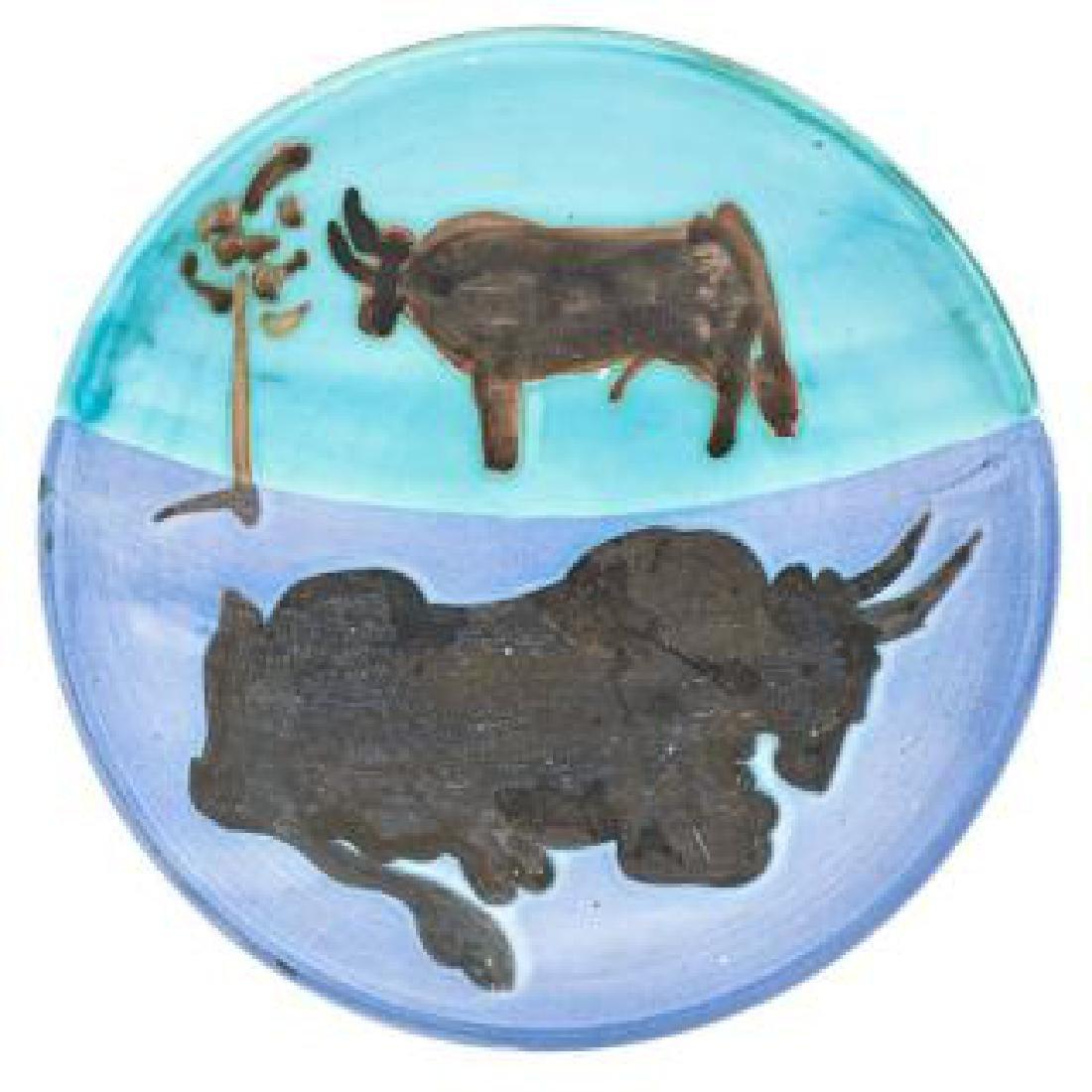 526: PABLO PICASSO - Ceramic: Toros