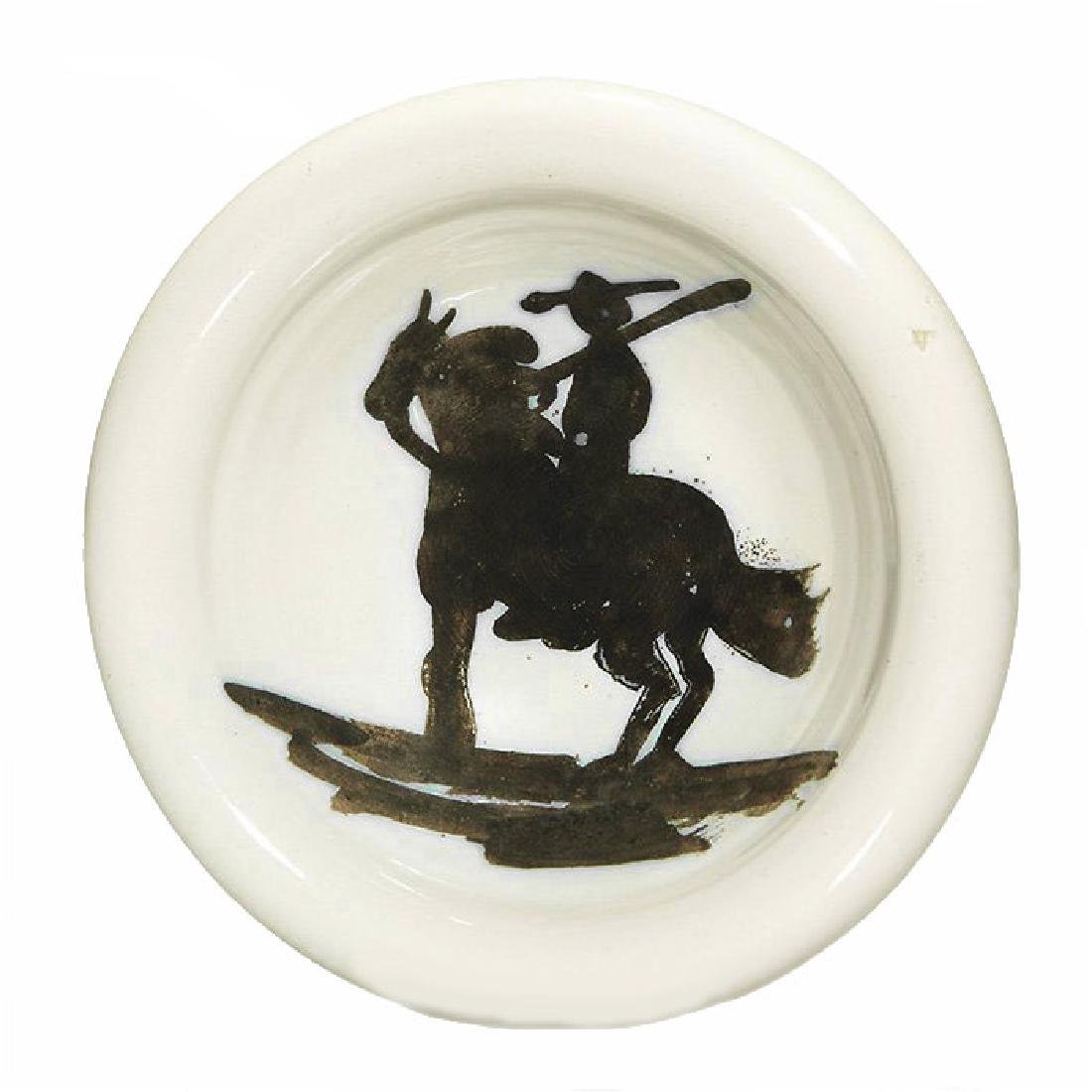 529: PABLO PICASSO - Ceramic: Picador