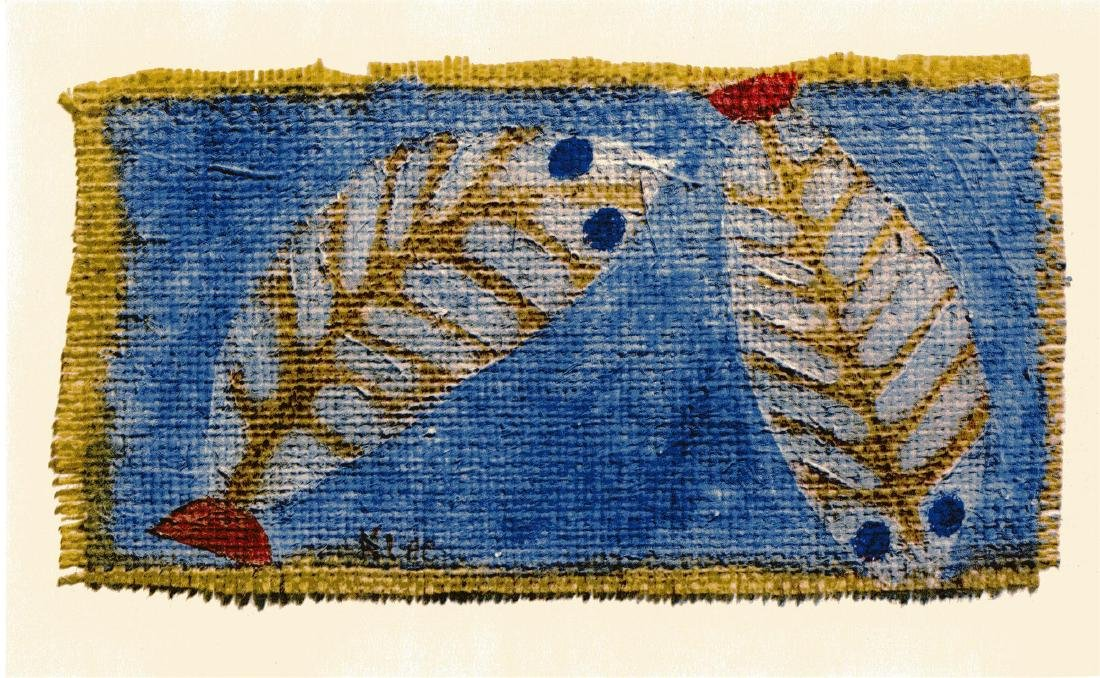 """564: PAUL KLEE - Blue-eyed Fishes [""""Poissons aux yeux"""