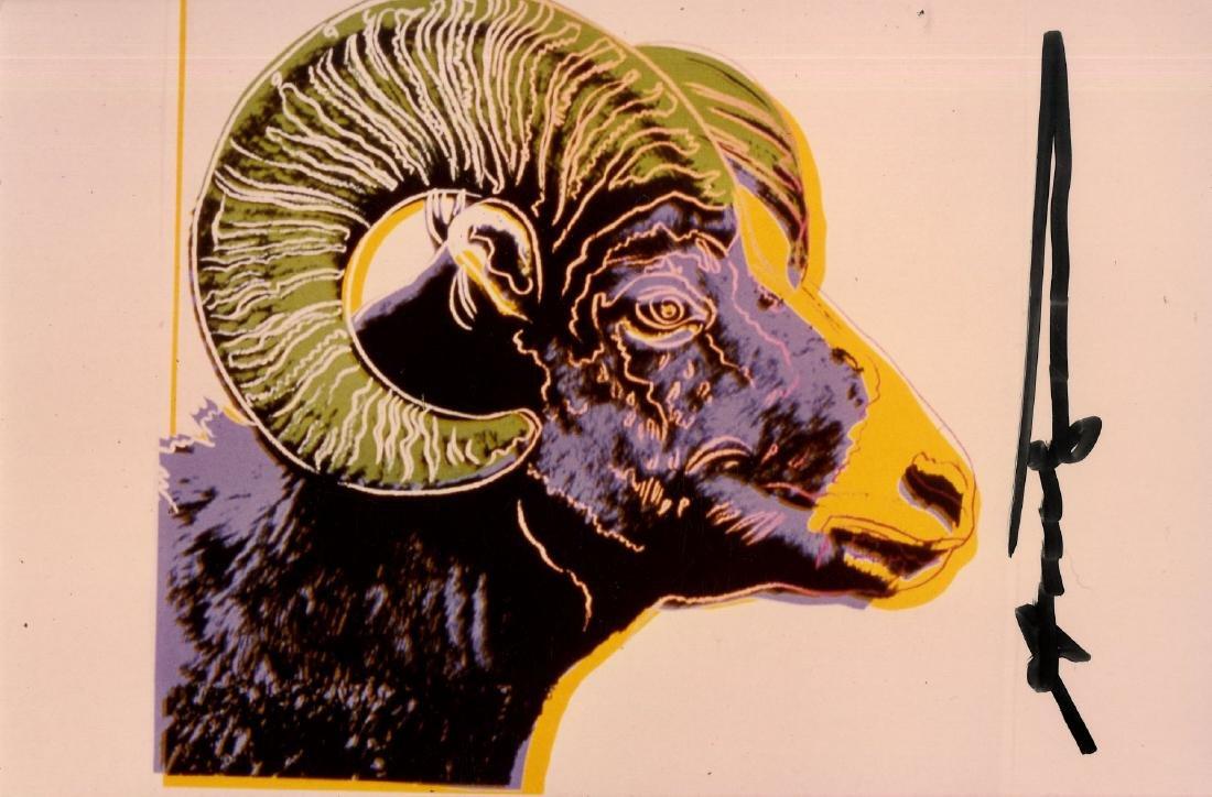 570: ANDY WARHOL - Bighorn Ram