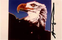 ANDY WARHOL - Bald Eagle