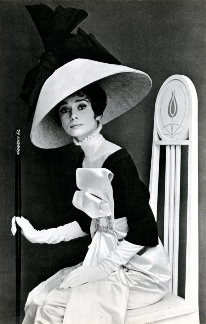 592: CECIL BEATON - Audrey Hepburn in 'My Fair Lady' #2