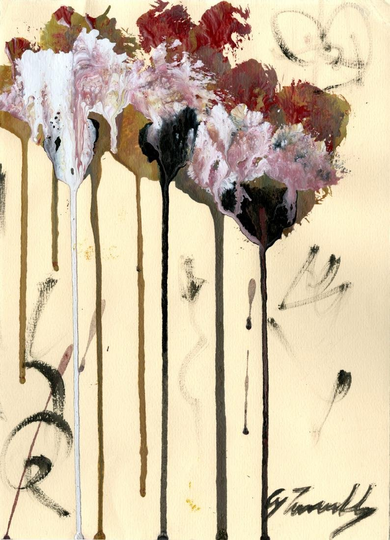 660: CY TWOMBLY - Untitled Study (#2)