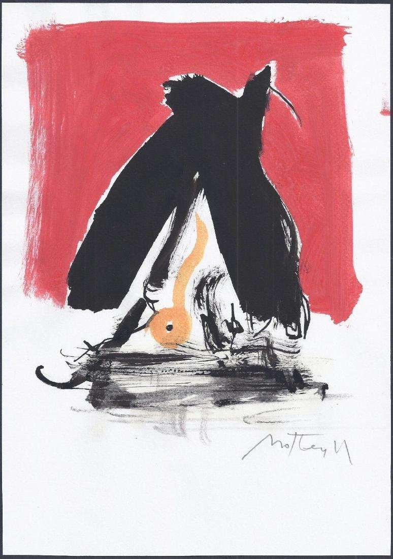 669: ROBERT MOTHERWELL - Untitled
