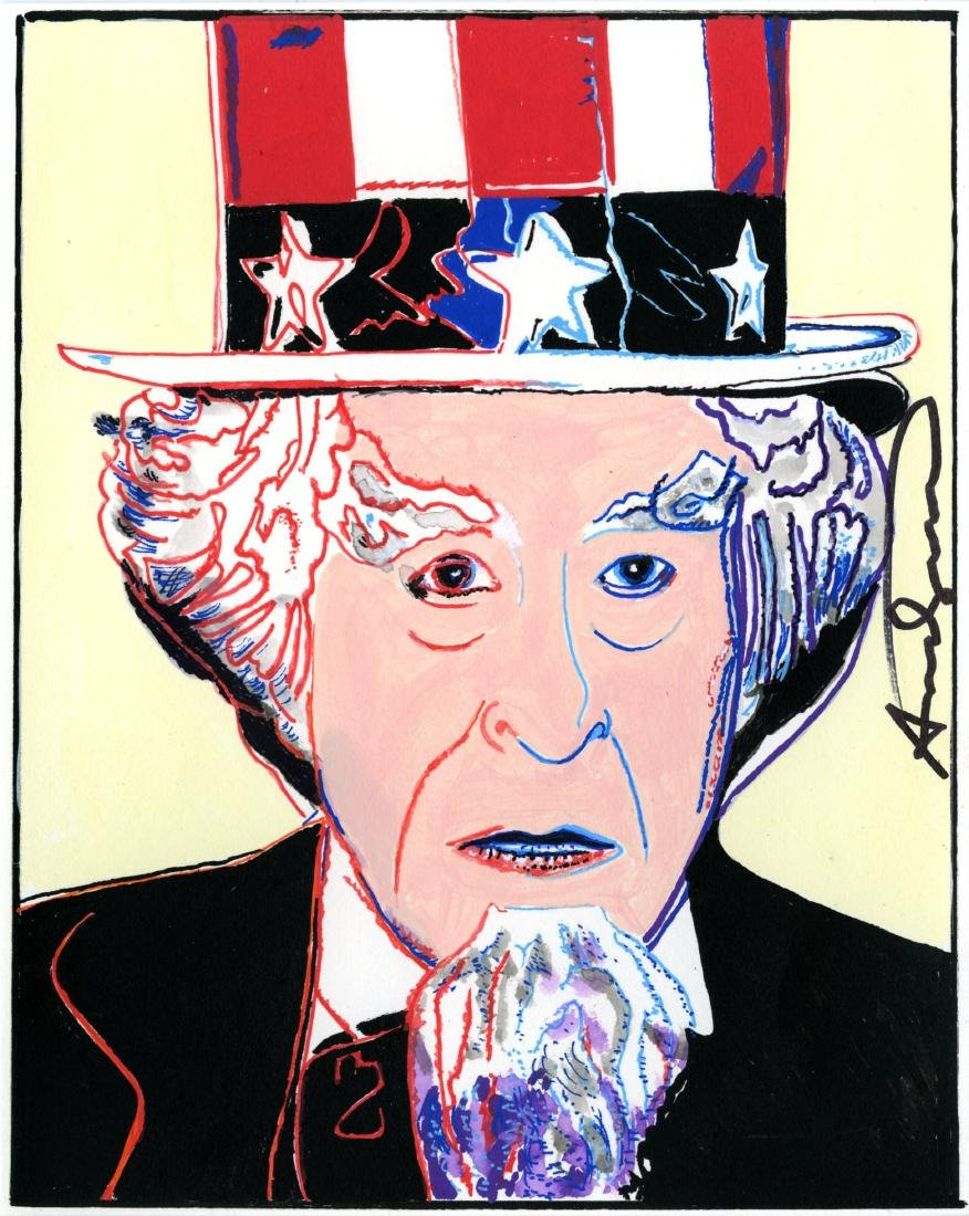 673: ANDY WARHOL - Uncle Sam