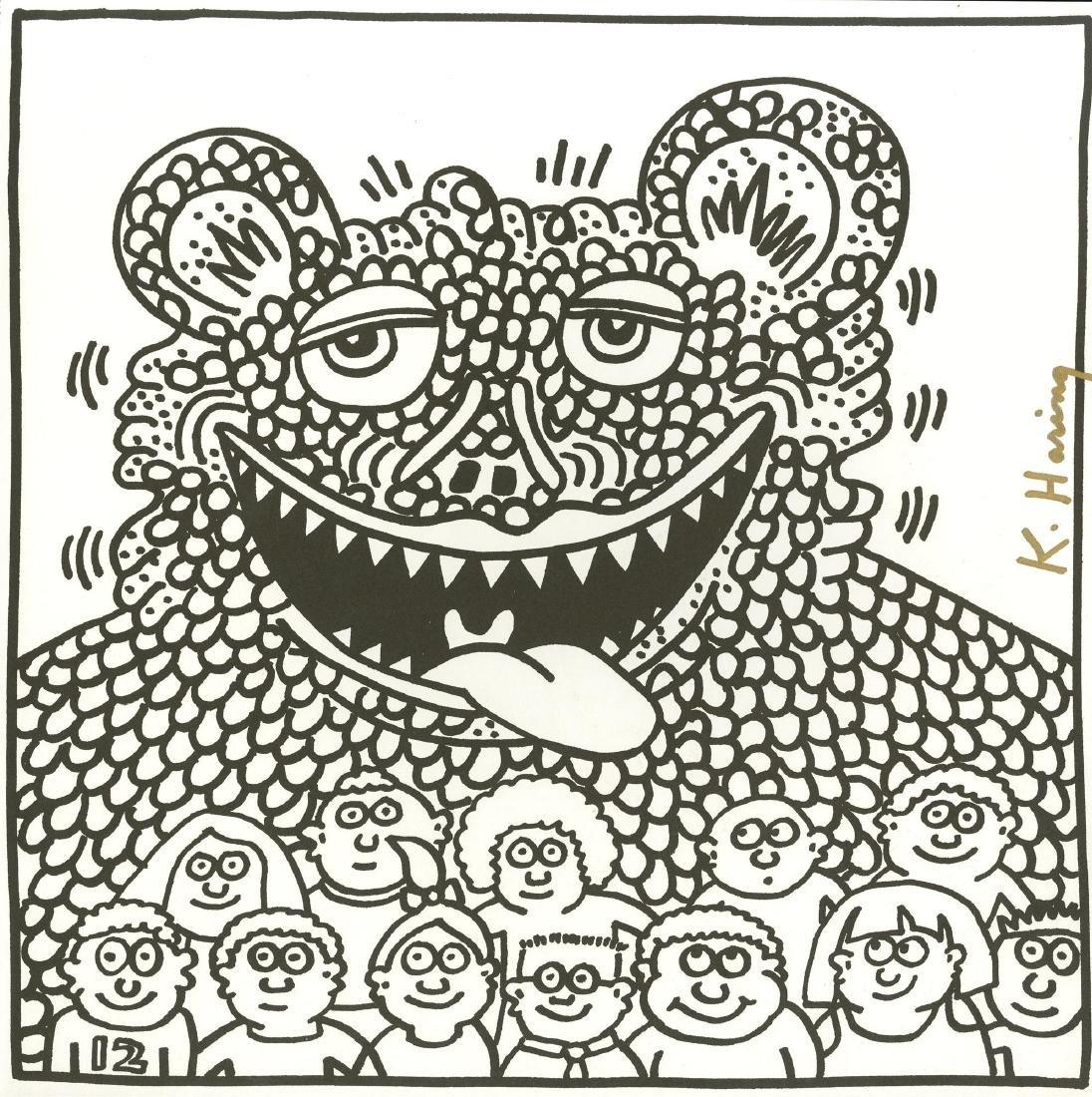 686: KEITH HARING - Twelve Friends