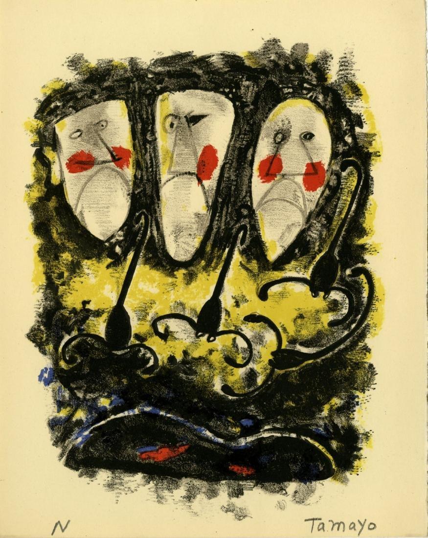 695: RUFINO TAMAYO - Tres Mascaras y Tres Alacranes