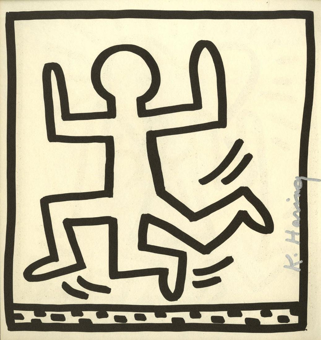 703: KEITH HARING - Three Legged Man
