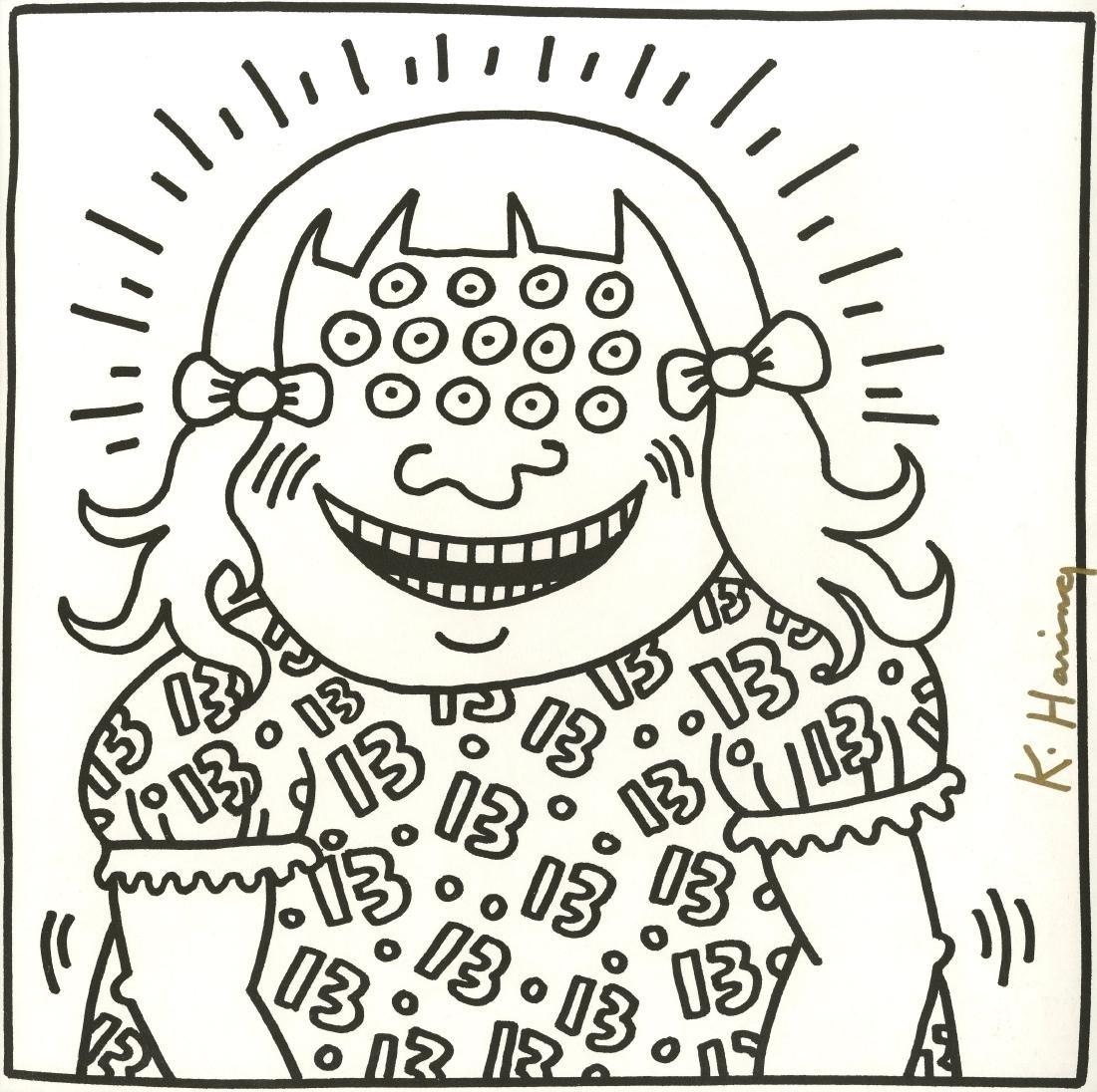 704: KEITH HARING - Thirteen Eyes