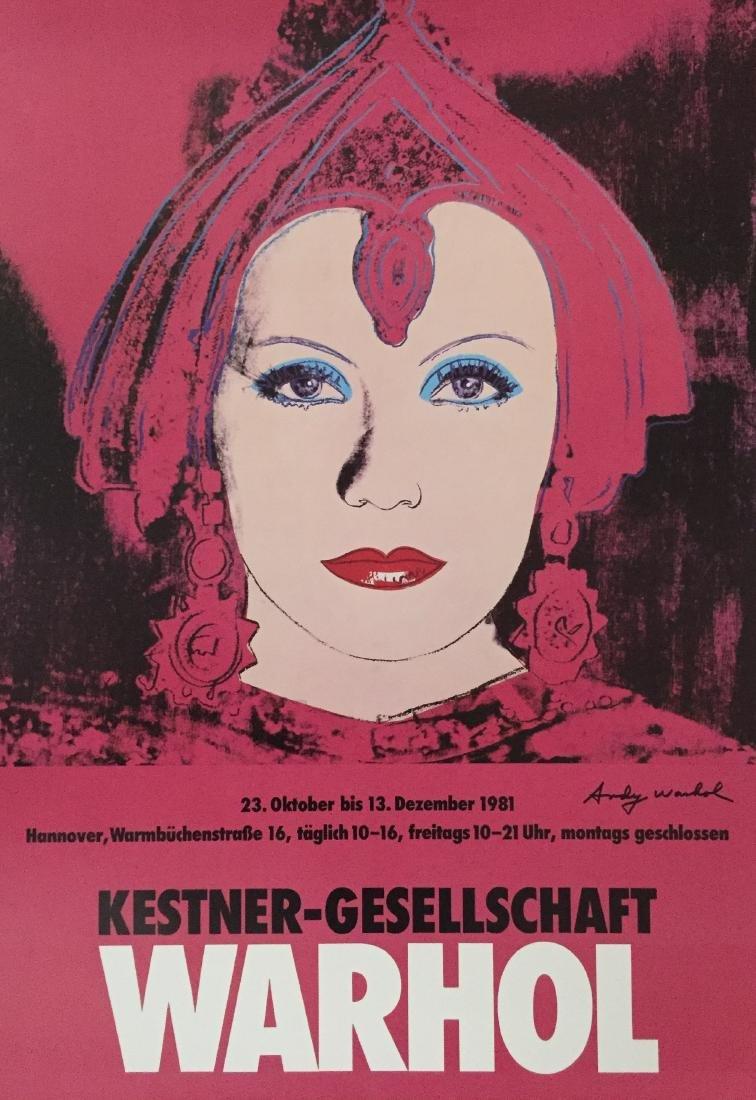 711: ANDY WARHOL - The Star [Greta Garbo as Mata Hari]