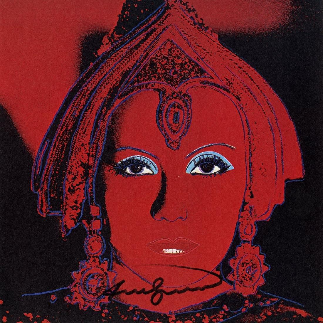 712: ANDY WARHOL - The Star [Greta Garbo as Mata Hari]