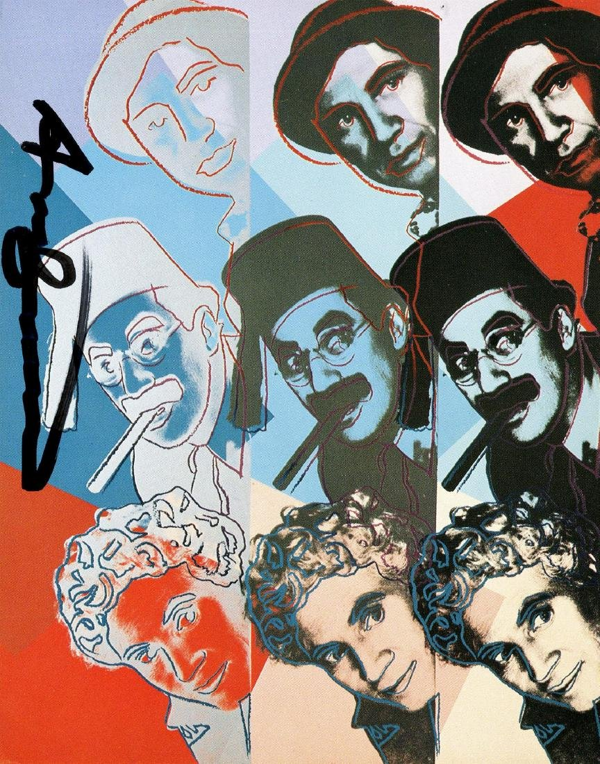 717: ANDY WARHOL - The Marx Brothers