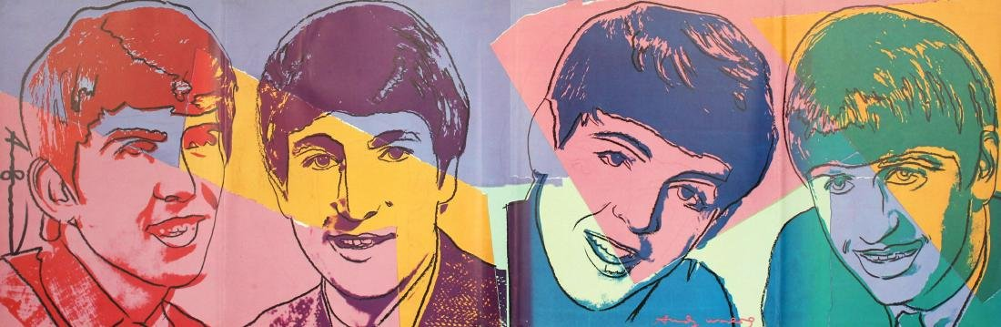 725: ANDY WARHOL - The Beatles #1
