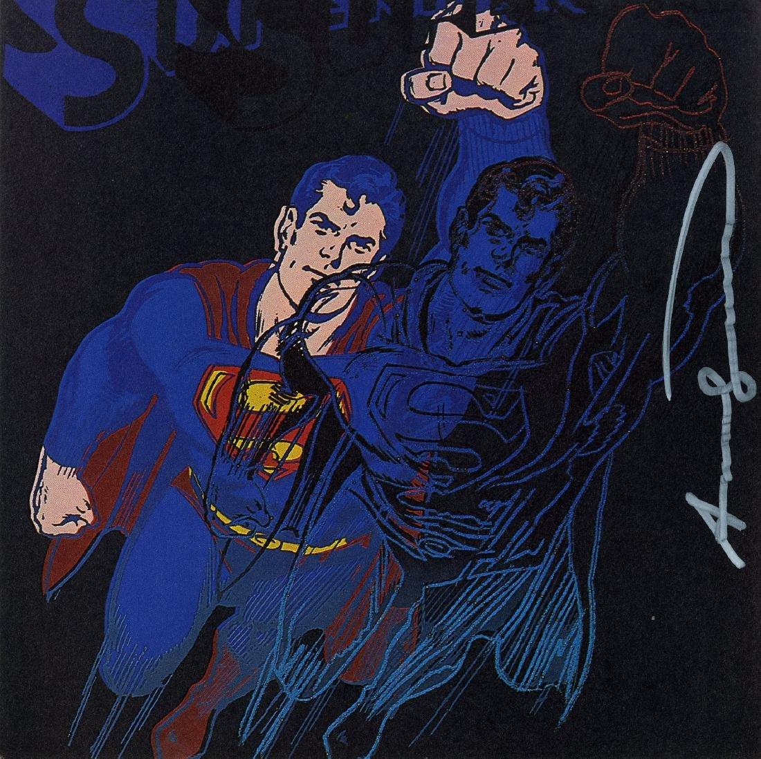 738: ANDY WARHOL - Superman
