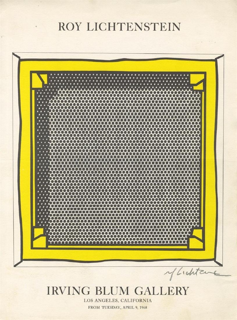 750: ROY LICHTENSTEIN - Stretcher Frame