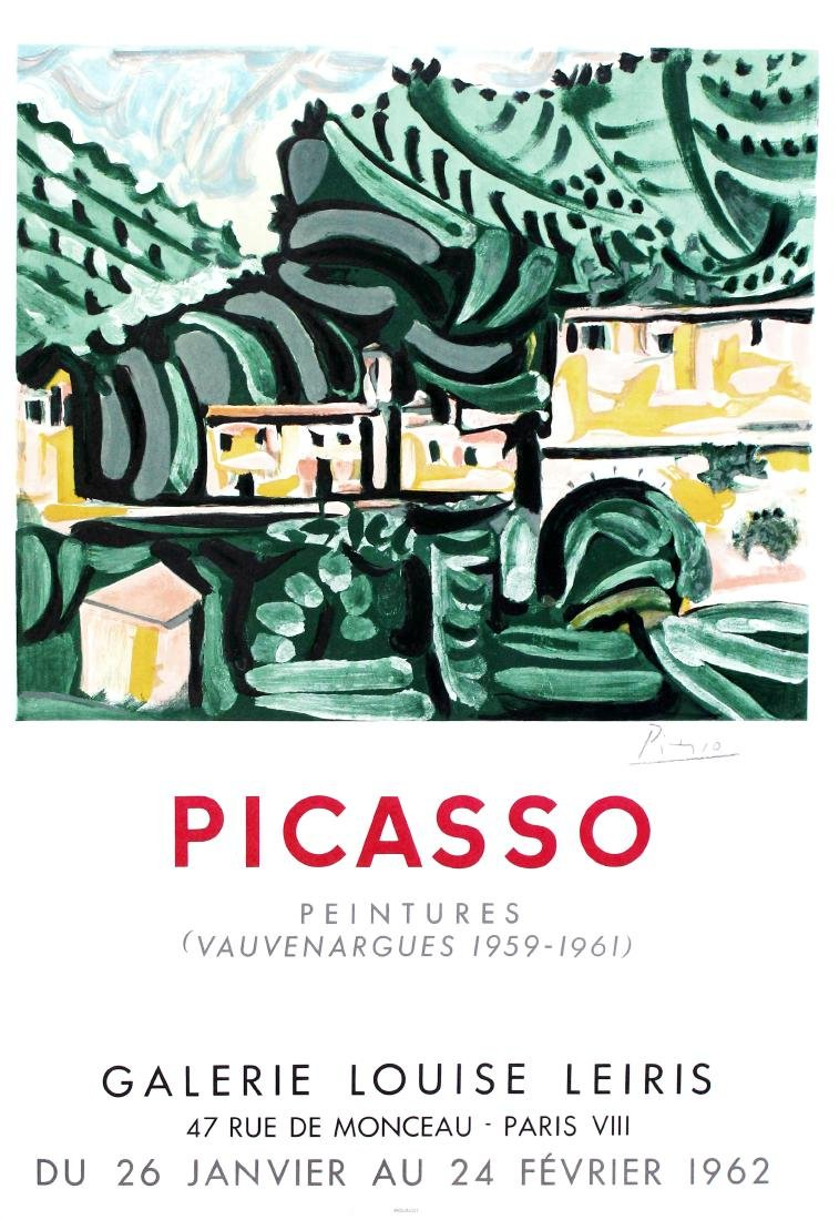 836: PABLO PICASSO - Picasso: Peintures (Vauvenargues