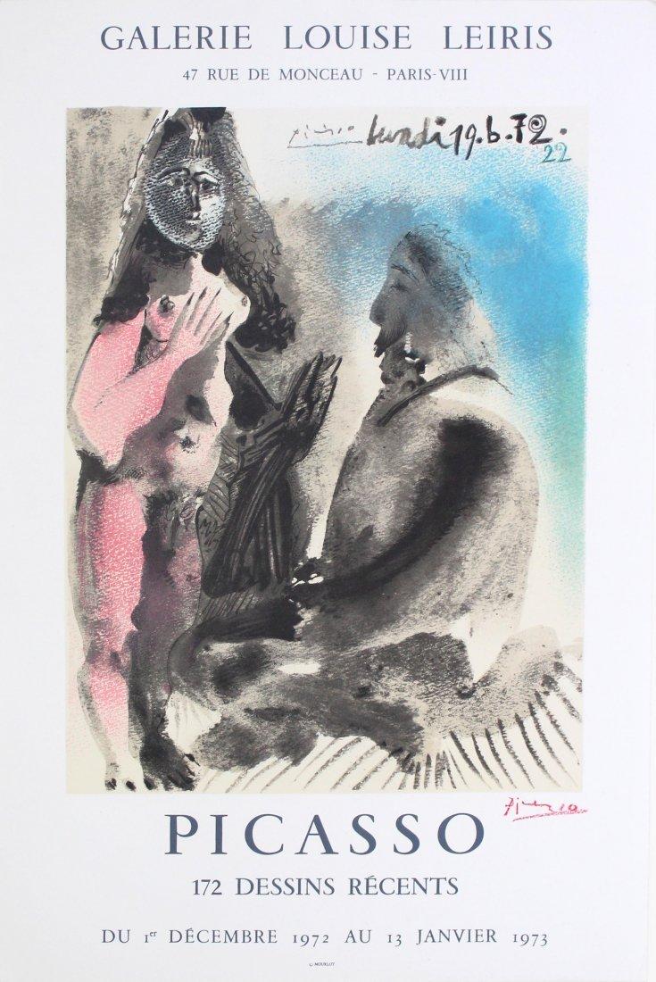 839: PABLO PICASSO - Picasso: 172 Dessins Recents