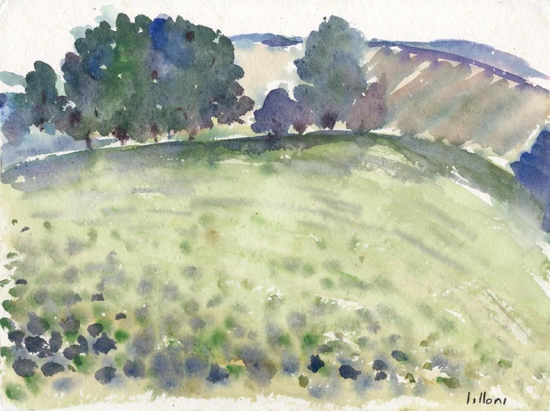860: UMBERTO LILLONI - Paesaggio