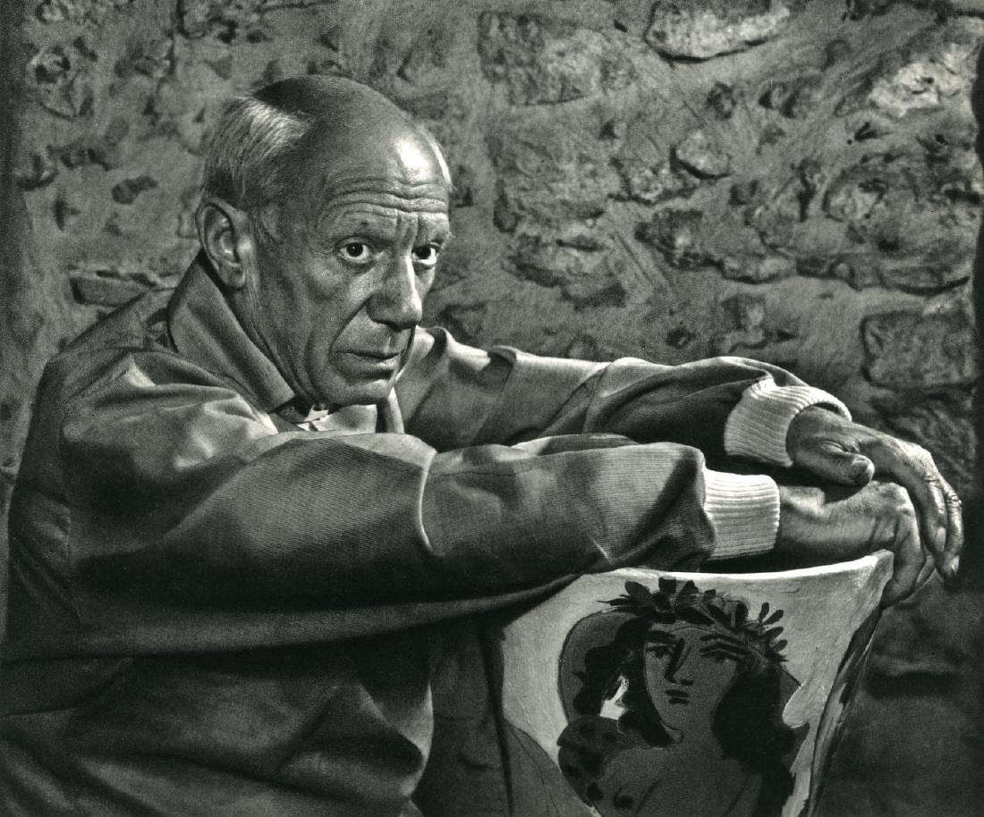 862: YOUSUF KARSH - Pablo Picasso I