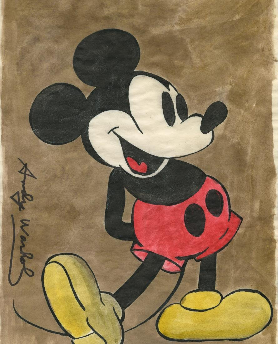 908: ANDY WARHOL [par/imputee] - Mickey Mouse
