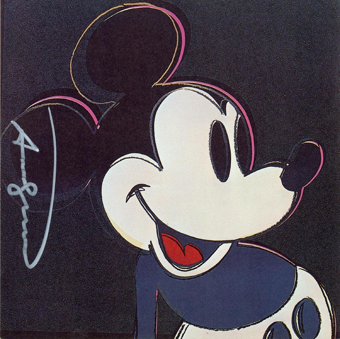 909: ANDY WARHOL - Mickey Mouse