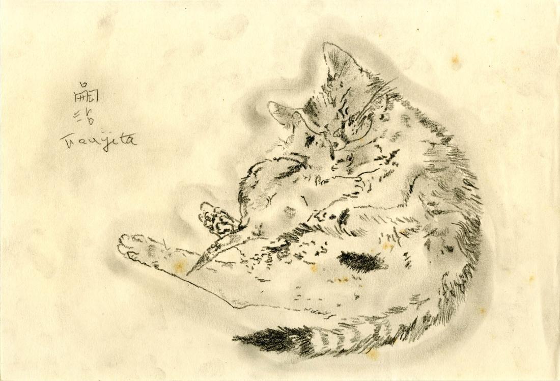 912: LEONARD TSUGUHARU FOUJITA - Mere chat et chaton