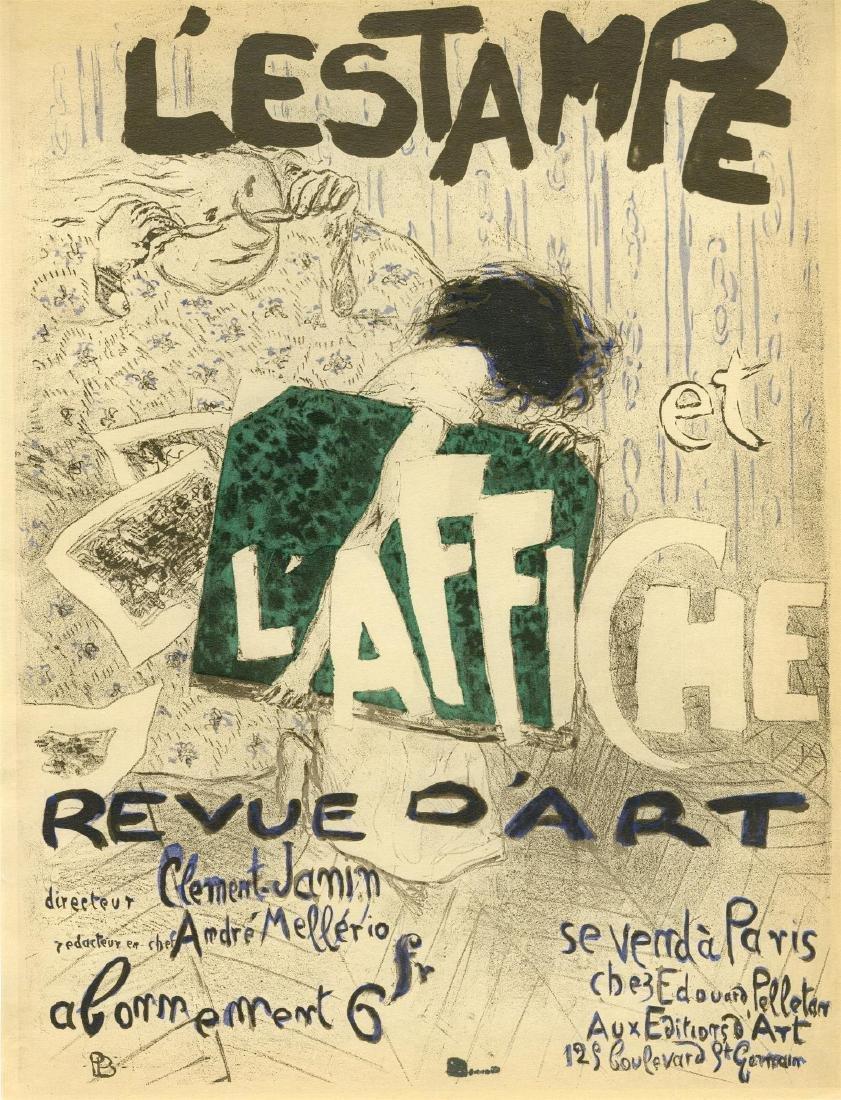 956: PIERRE BONNARD - L'Estampe et l'affiche