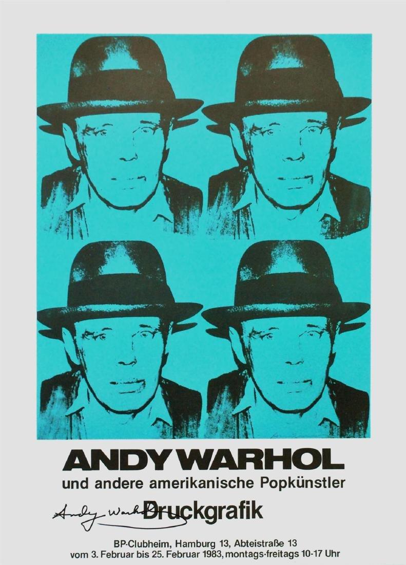 981: ANDY WARHOL - Joseph Beuys