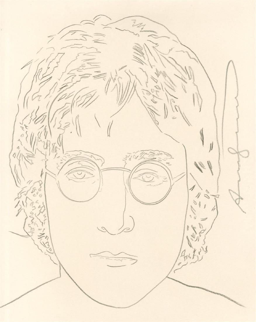 982: ANDY WARHOL - John Lennon