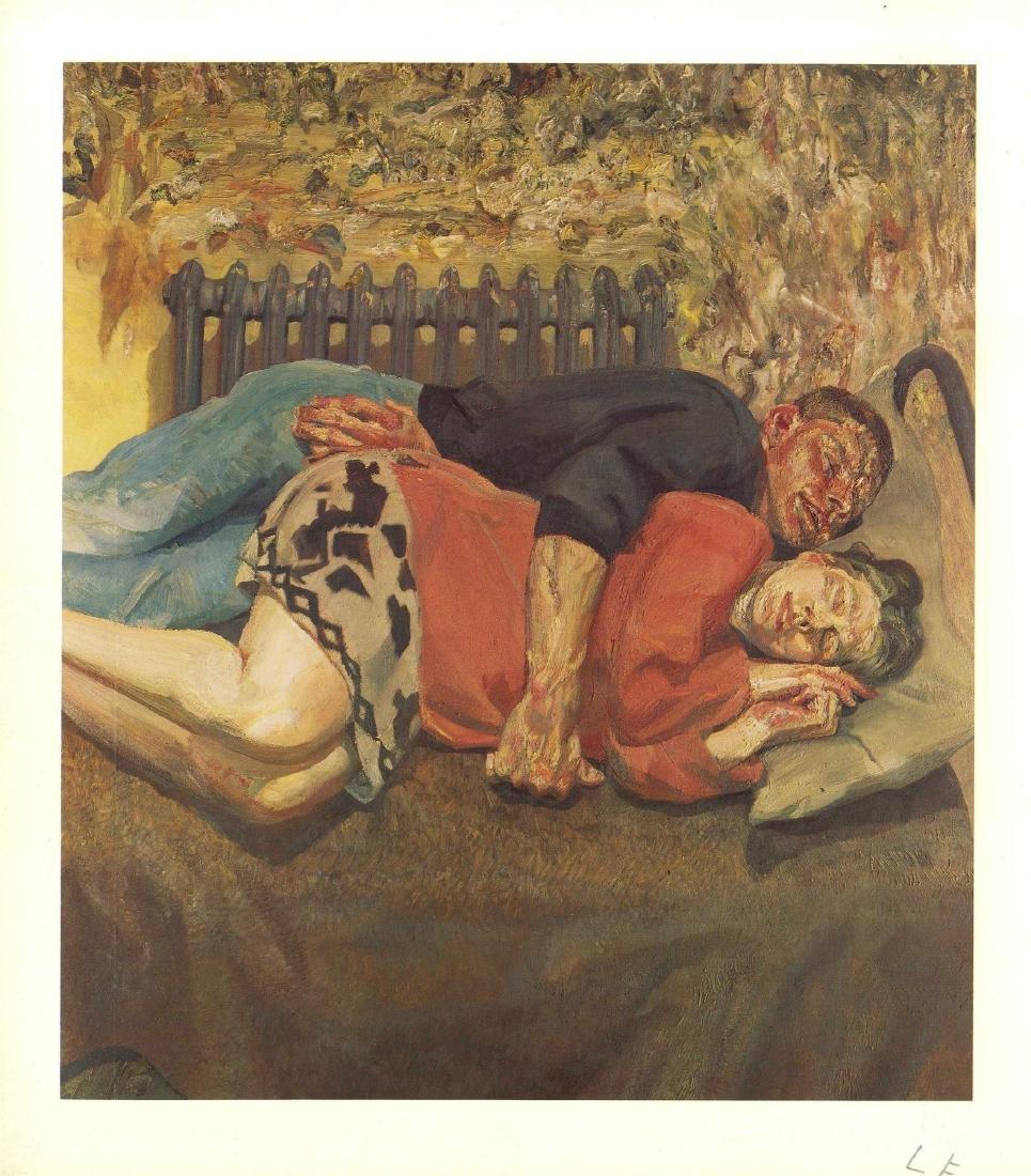 1014: LUCIAN FREUD - Ib and Her Husband