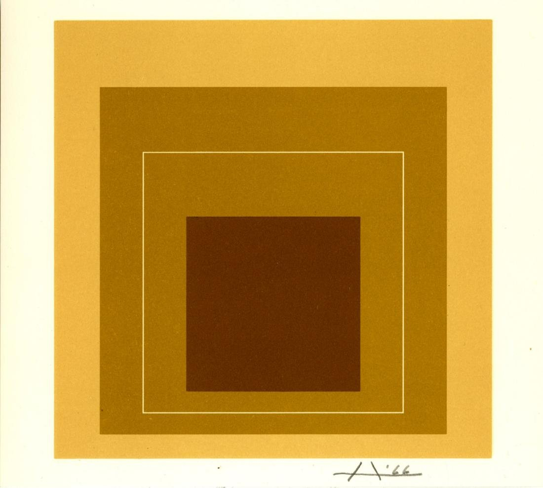 1023: JOSEF ALBERS - Homage to the Square: White Line