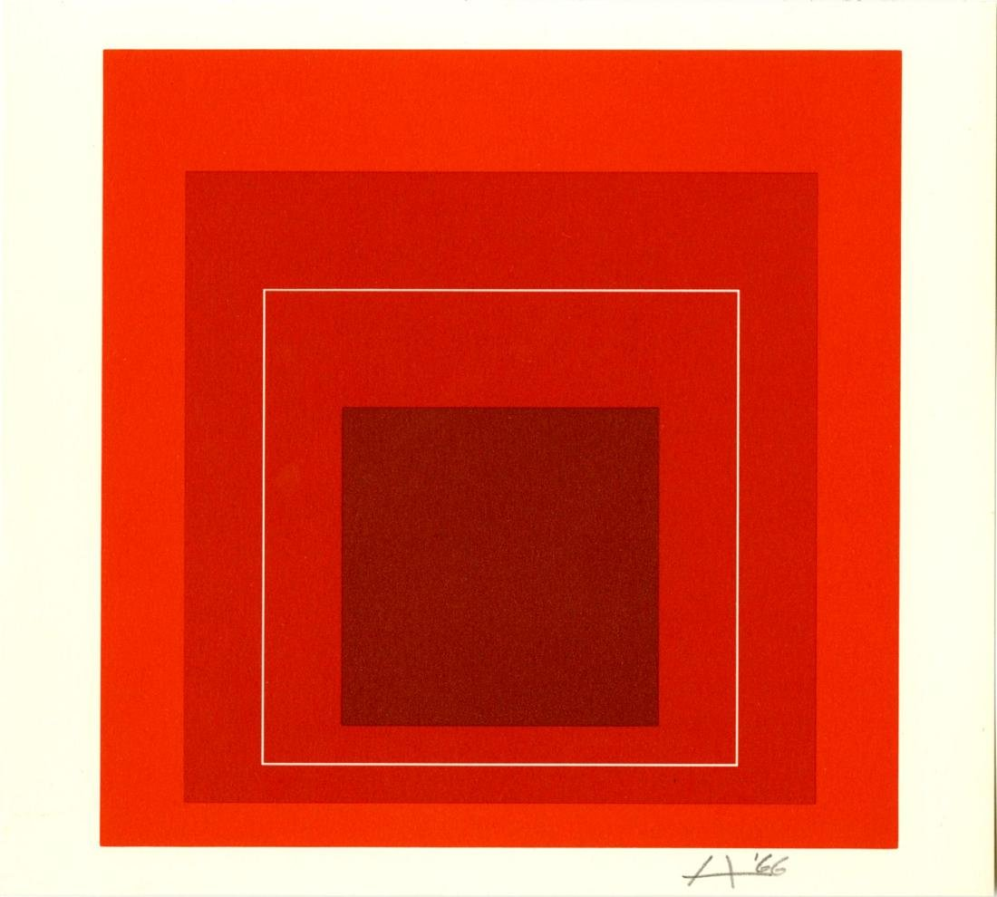 1024: JOSEF ALBERS - Homage to the Square: White Line
