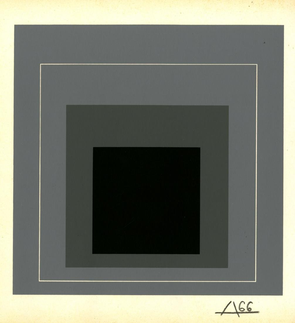 1028: JOSEF ALBERS - Homage to the Square: White Line