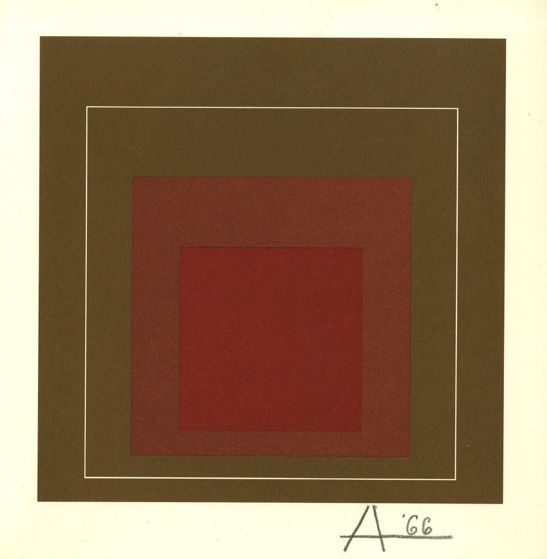 1029: JOSEF ALBERS - Homage to the Square: White Line