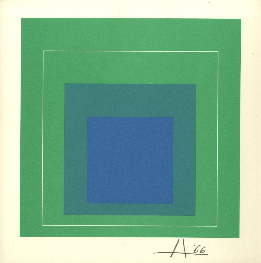 1030: JOSEF ALBERS - Homage to the Square: White Line