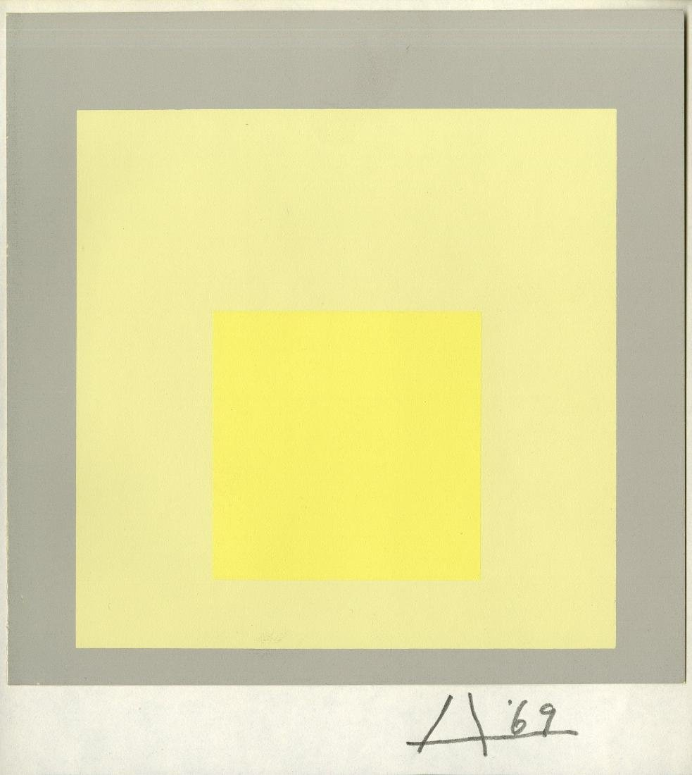 1035: JOSEF ALBERS - Homage to the Square: Morning