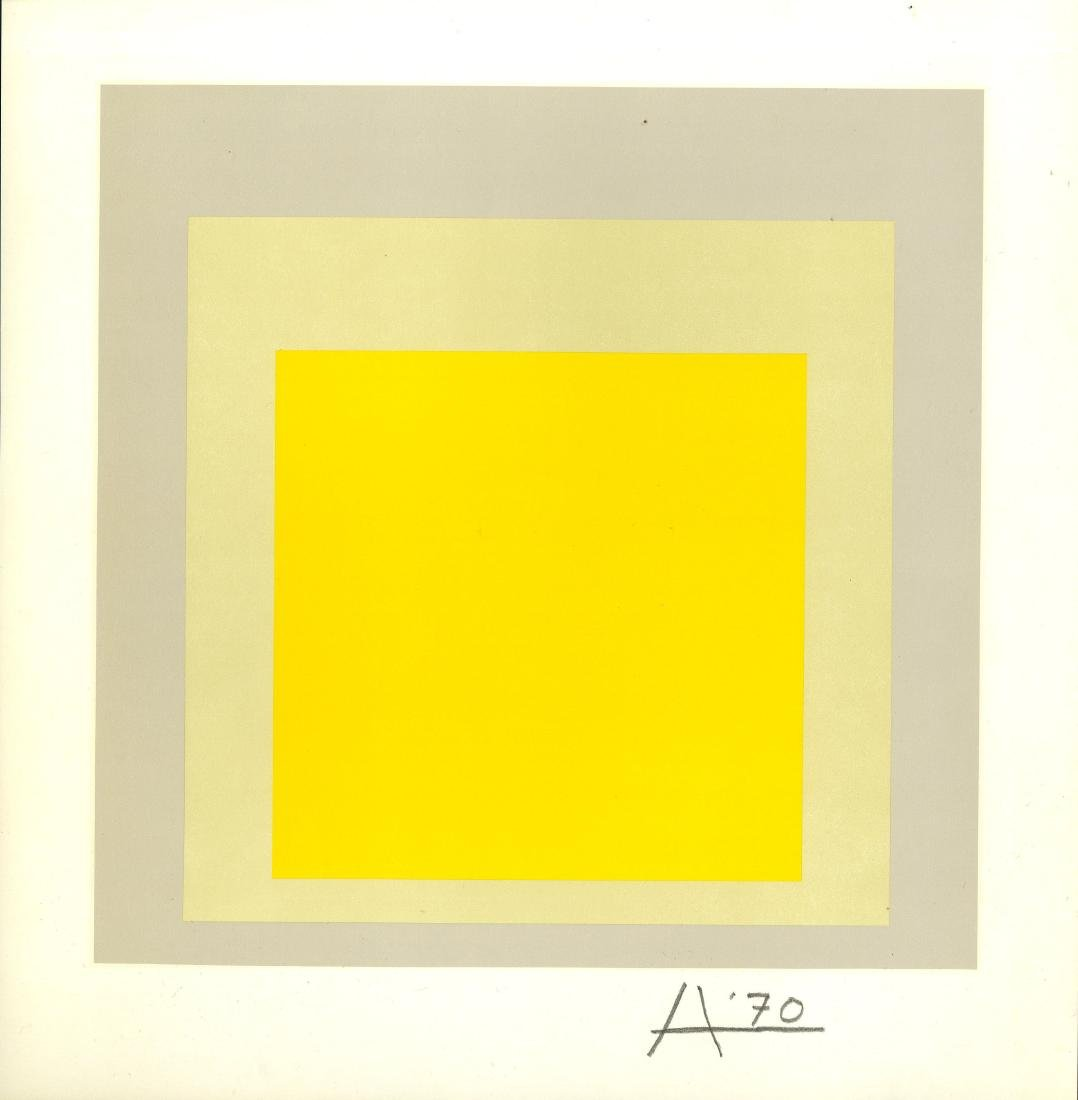 1039: JOSEF ALBERS - Homage to the Square: