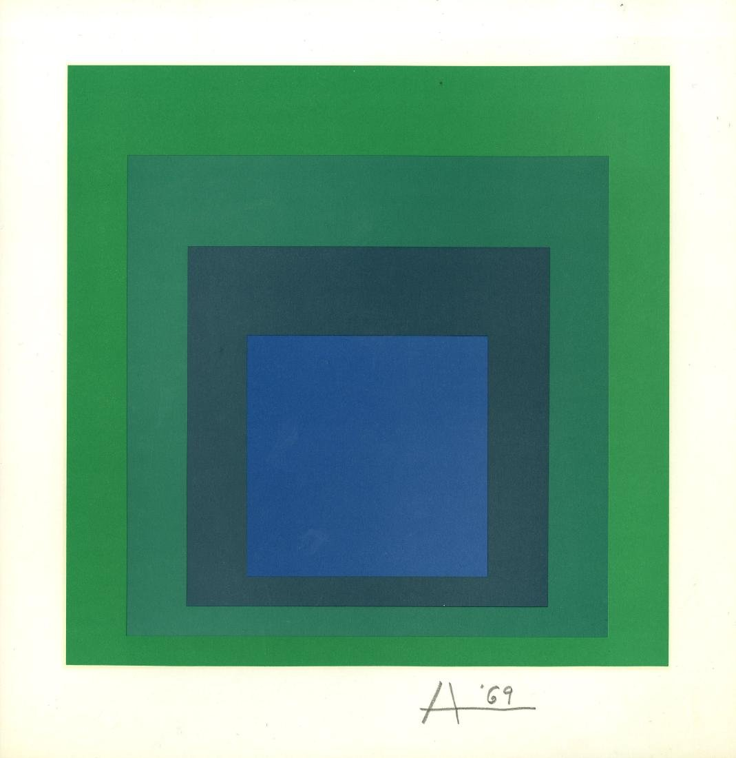 1041: JOSEF ALBERS - Homage to the Square:
