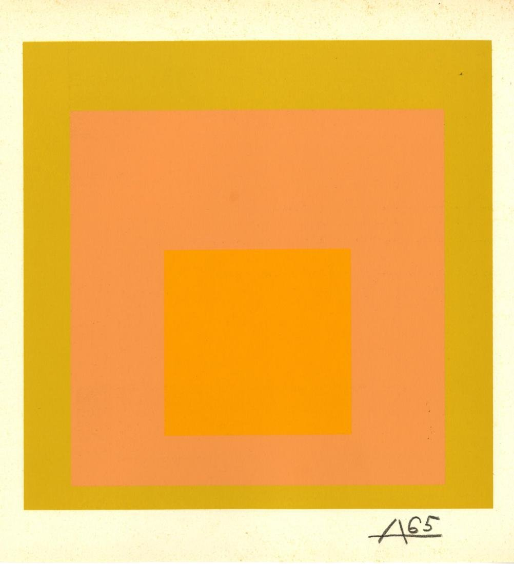 1044: JOSEF ALBERS - Homage to the Square: Arrived