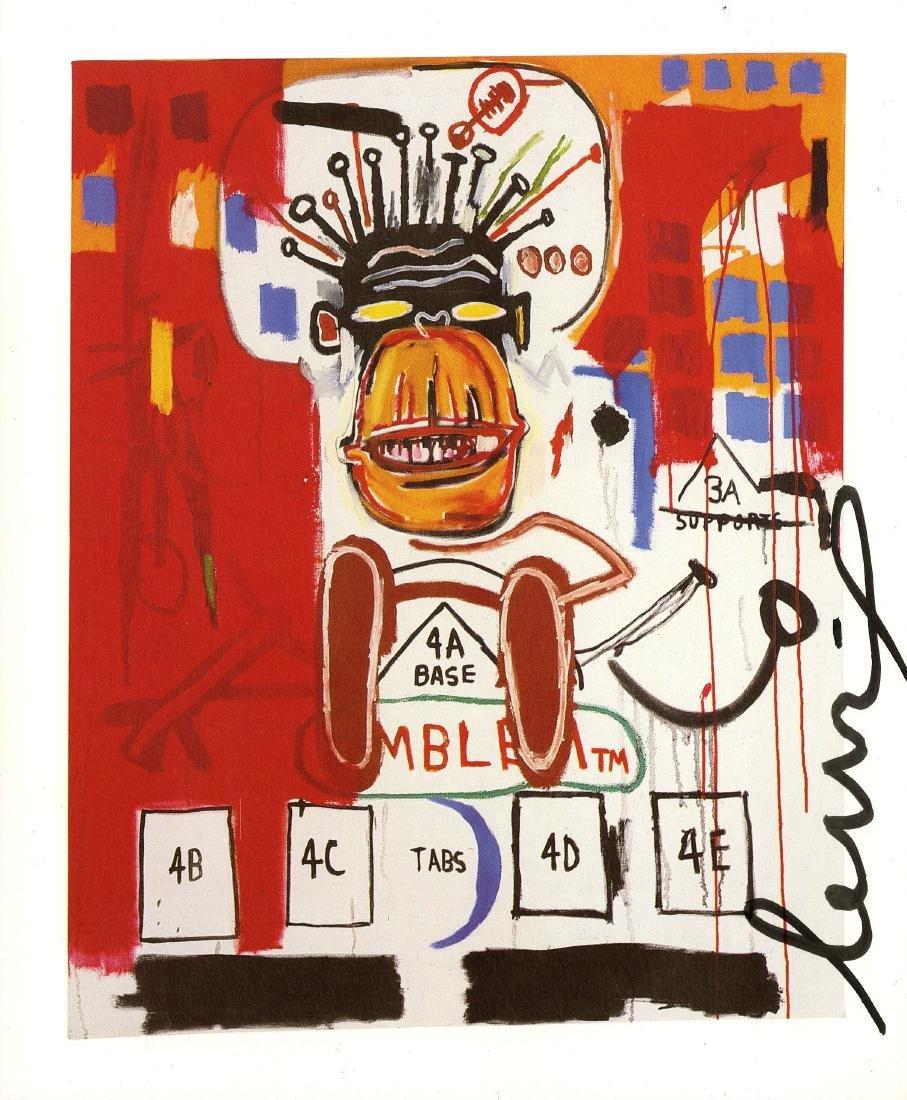 1067: JEAN-MICHEL BASQUIAT - God Monkey