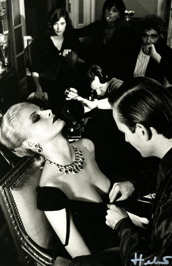 1068: HELMUT NEWTON - Givenchy & Bulgari, French Vogue
